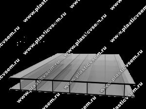 Стурктура сотового поликарбоната 2R