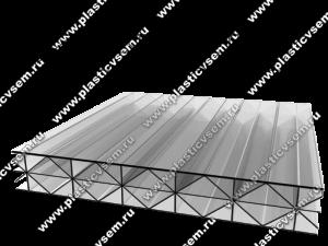 Стурктура сотового поликарбоната 3RX