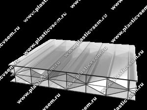Стурктура сотового поликарбоната 5RX усиленная многослойная